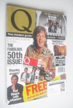 <!--1990-11-->Q magazine - Paul McCartney cover (November 1990)