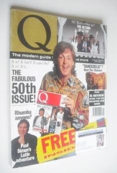 <!--1990-11-->Q magazine - Paul McCartney cover (November 1990)