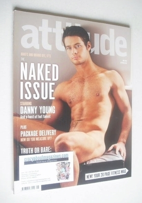 <!--2010-05-->Attitude magazine - Danny Young cover (May 2010)