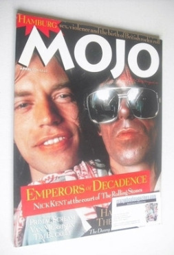 <!--1994-04-->MOJO magazine - The Rolling Stones cover (April 1994 - Issue