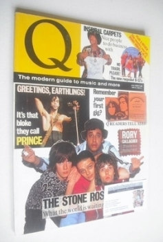 Q magazine - The Stone Roses cover (July 1990)