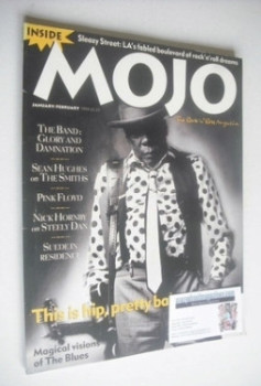 MOJO magazine - John Lee Hooker cover (January/February 1994 - Issue 3)