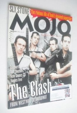 <!--1994-08-->MOJO magazine - The Clash cover (August 1994 - Issue 9)