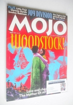 <!--1994-07-->MOJO magazine - Woodstock cover (July 1994 - Issue 8)