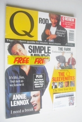 <!--1991-05-->Q magazine - Jim Kerr cover (May 1991)