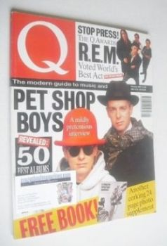 Q magazine - Pet Shop Boys cover (January 1992)
