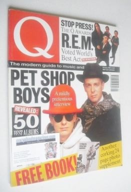 <!--1992-01-->Q magazine - Pet Shop Boys cover (January 1992)