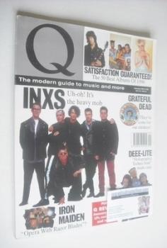 <!--1991-01-->Q magazine - INXS cover (January 1991)