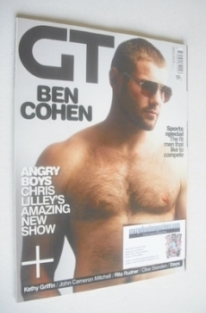 Gay Times magazine - Ben Cohen cover (July 2011)
