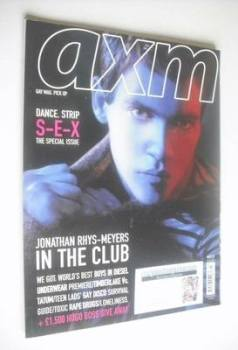 AXM magazine - Jonathan Rhys-Meyers cover (March 2007)