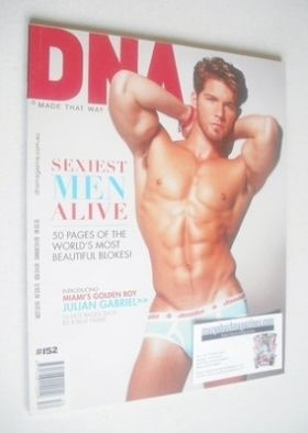 <!--0152-->DNA magazine - Sexiest Men Alive cover (Issue 152)