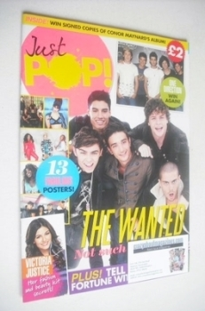 Just Pop magazine - The Wanted cover (2012)