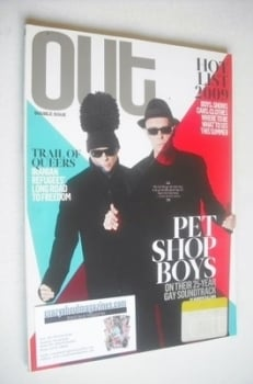 Out magazine - Pet Shop Boys cover (June/July 2009)