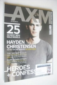 AXM magazine - Hayden Christensen cover (February 2008)