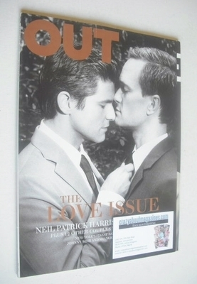 <!--2012-02-->Out magazine - The Love Issue (February 2012)