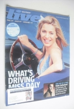 Live magazine - Tess Daly cover (12 February 2006)