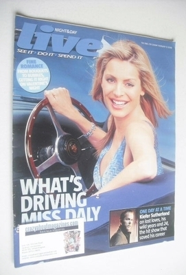 <!--2006-02-12-->Live magazine - Tess Daly cover (12 February 2006)