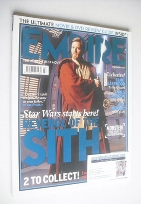 <!--2005-03-->Empire magazine - Ewan McGregor cover (March 2005 - Issue 189