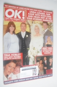 OK! magazine - Ross King and Helen Way cover (11 June 1999 - Issue 165)