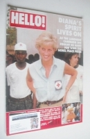 <!--1997-10-25-->Hello! magazine - Princess Diana cover (25 October 1997 - Issue 481)