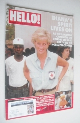 <!--1997-10-25-->Hello! magazine - Princess Diana cover (25 October 1997 -