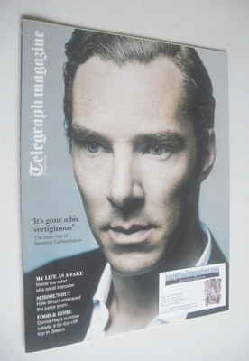 <!--2012-08-11-->Telegraph magazine - Benedict Cumberbatch cover (11 August