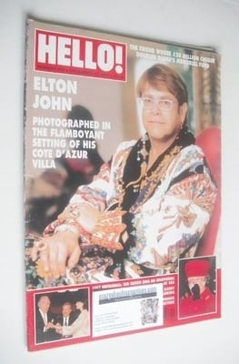 <!--1997-12-20-->Hello! magazine - Elton John cover (20 December 1997 - Iss