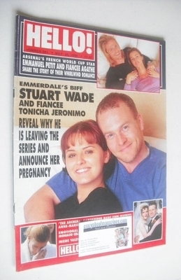 <!--1999-05-25-->Hello! magazine - Stuart Wade and Tonicha Jeronimo cover (