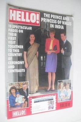 <!--1992-02-22-->Hello! magazine - Princess Diana and Prince Charles cover