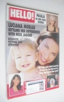<!--2000-10-03-->Hello! magazine - Luciana Morad cover (3 October 2000 - Issue 631)