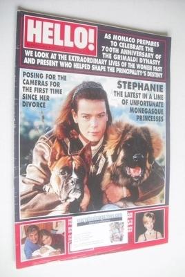 <!--1996-12-21-->Hello! magazine - Princess Stephanie cover (21 December 19