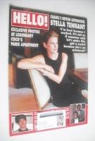 <!--1997-02-08-->Hello! magazine - Stella Tennant cover (8 February 1997 - Issue 444)