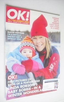 <!--1997-01-12-->OK! magazine - Linda Robson cover (12 January 1997 - Issue