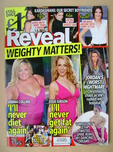 Reveal magazine - Weighty Matters cover (4-10 January 2014)