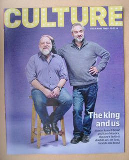 Culture magazine - Simon Russell Beale and Sam Mendes cover (19 January 2014)