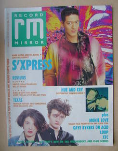 <!--1989-02-18-->Record Mirror magazine - 18 February 1989