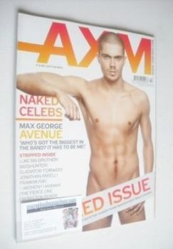 <!--2008-10-->AXM magazine - Max George cover (October 2008)