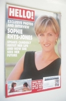 <!--1997-08-16-->Hello! magazine - Sophie Rhys-Jones cover (16 August 1997 - Issue 471)