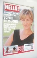 <!--1997-08-16-->Hello! magazine - Sophie Rhys-Jones cover (16 August 1997 - Issue 471)