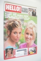 <!--1997-07-05-->Hello! magazine - Mandy Smith and Nicola Smith cover (5 July 1997 - Issue 465)