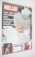 <!--1997-04-19-->Hello! magazine - Elton John cover (19 April 1997 - Issue 454)