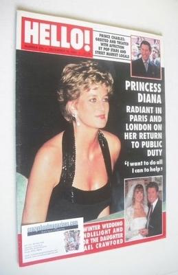 <!--1994-12-10-->Hello! magazine - Princess Diana cover (10 December 1994 -