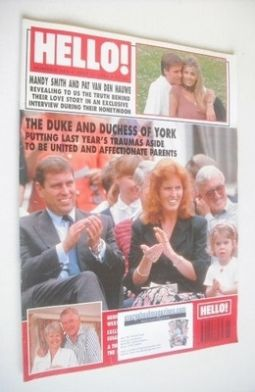 <!--1993-07-03-->Hello! magazine - The Duke and Duchess of York cover (3 Ju