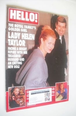 <!--1999-03-06-->Hello! magazine - Lady Helen Taylor cover (6 March 1999 -