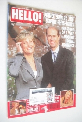 <!--1999-01-16-->Hello! magazine - Prince Edward and Sophie Rhys-Jones cove