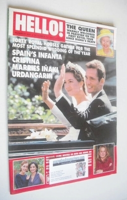 <!--1997-10-18-->Hello! magazine - Infanta Cristina and Inaki Urdangarin co