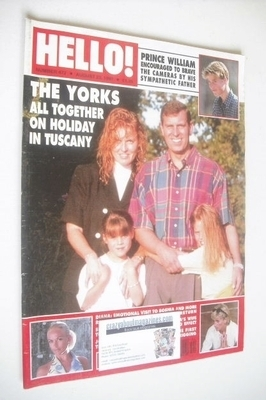 <!--1997-08-23-->Hello! magazine - The Duke and Duchess of York and family