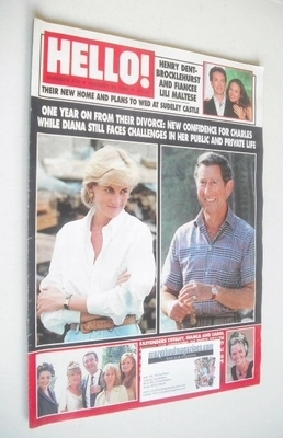 <!--1997-08-30-->Hello! magazine - Princess Diana and Prince Charles cover