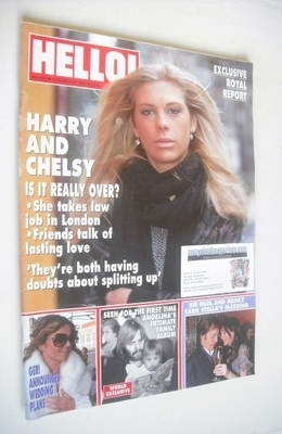 <!--2009-02-10-->Hello! magazine - Chelsy Davy cover (10 February 2009 - Is