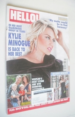<!--2008-10-21-->Hello! magazine - Kylie Minogue cover (21 October 2008 - I